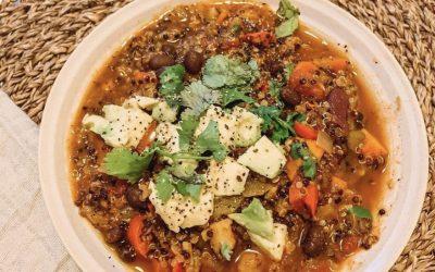 Veggie Packed Protein Chili